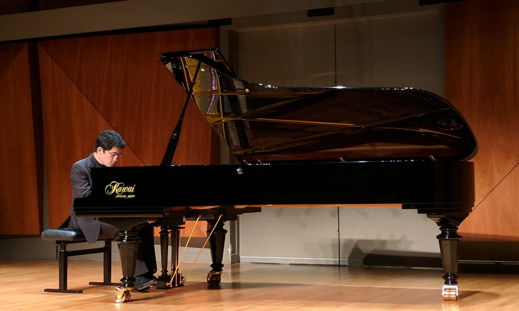 Colburn at the Steinway Gallery