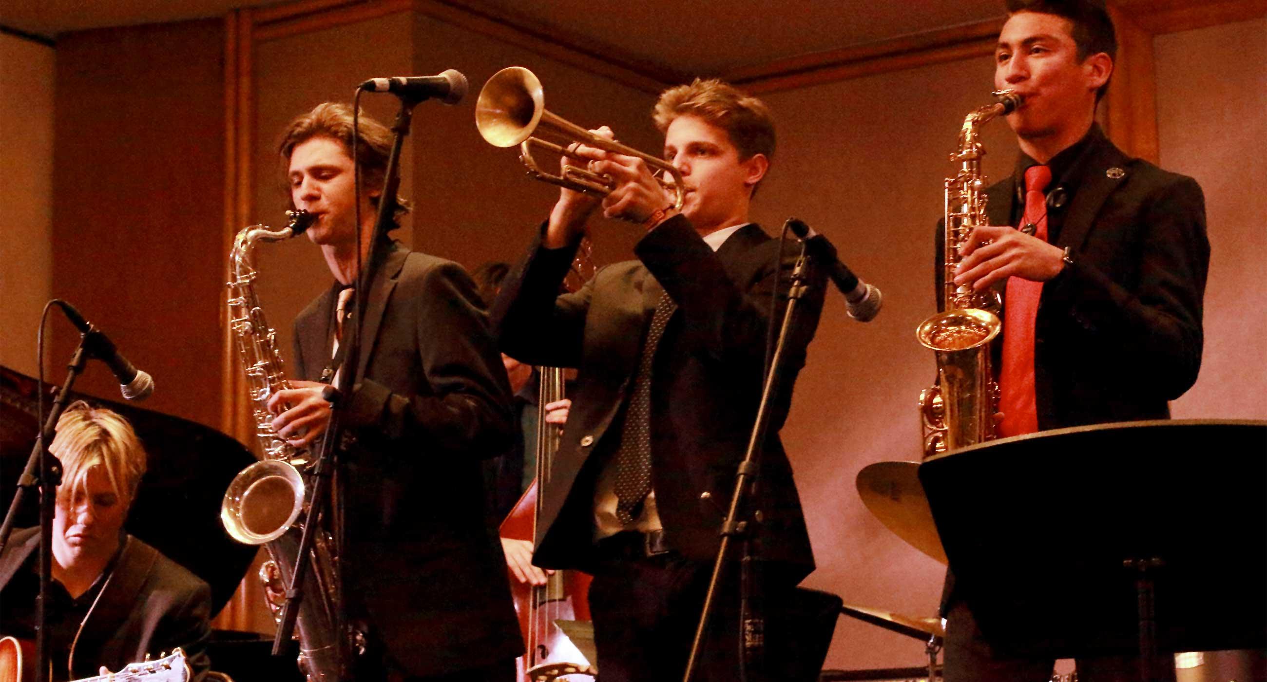 Jazz Students and Ensembles Win DownBeat Awards - Colburn
