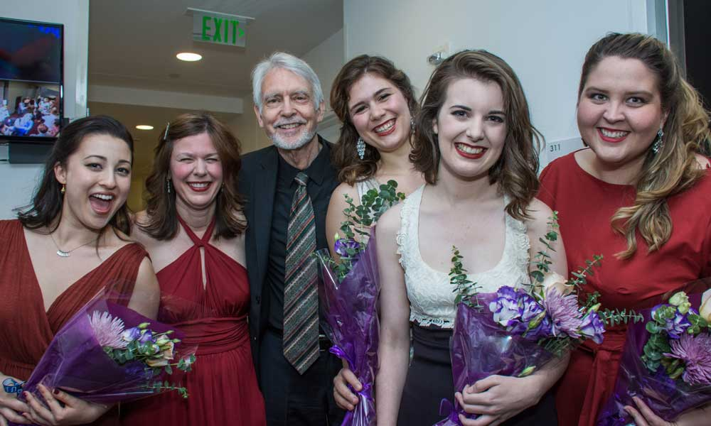 SongFest: William Bolcom and John Harbison at SongFest