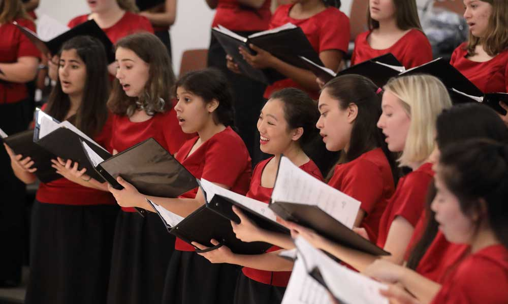 Community School Winter Choral Concerts