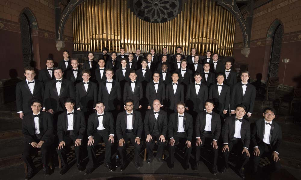 Cornell Glee Club Sesquicentennial Tour Concert