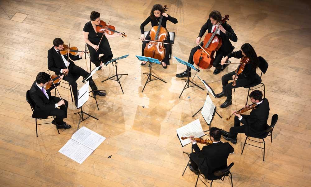 Michael Barenboim and the West-Eastern Divan Ensemble