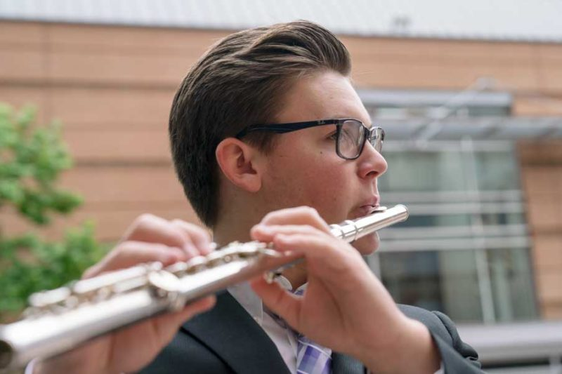 Music Academy flutist