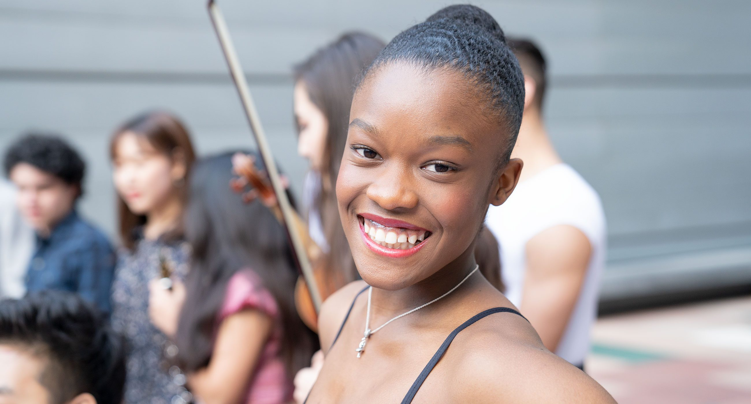 Dance Academy student smiling