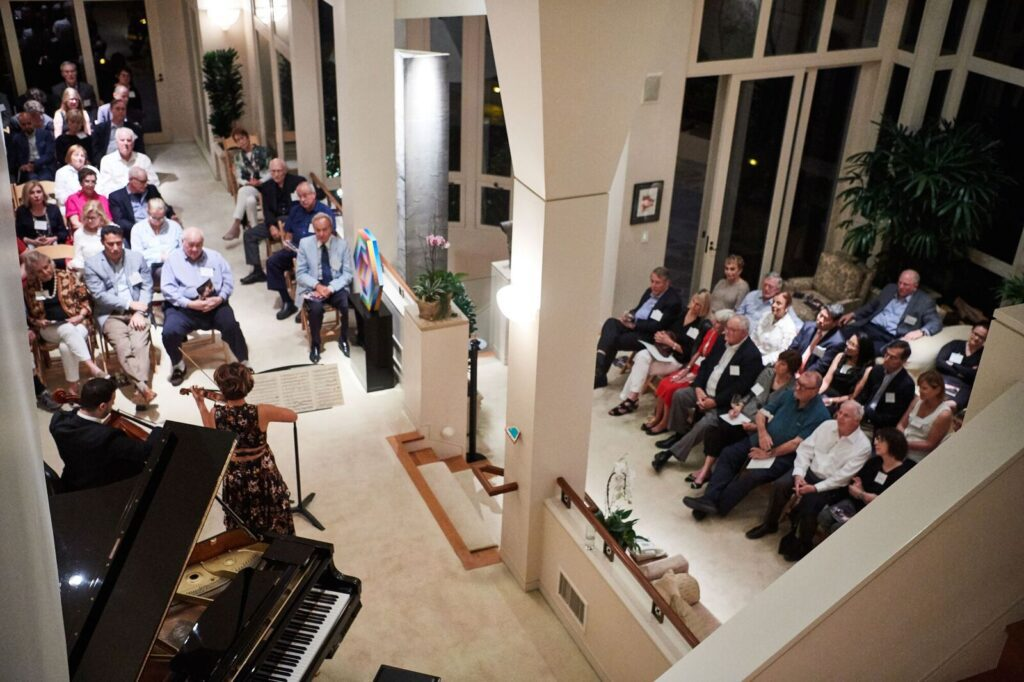 2017 Colburn Society Annual Celebration hosted by Carol and Warner Henry