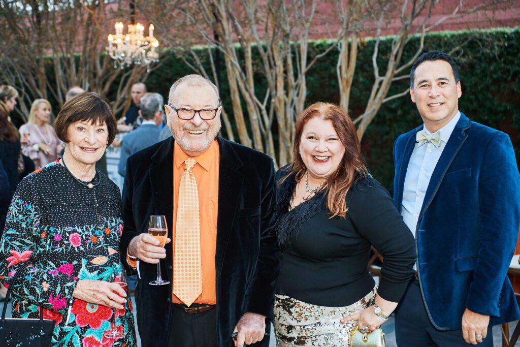 Carol and Warner Henry (left) at the 2019 Beyond the Quartet Celebration
