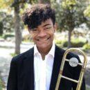 Trombonist Elijah Alexander