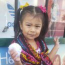 3-year-old student Yuliana Gomez