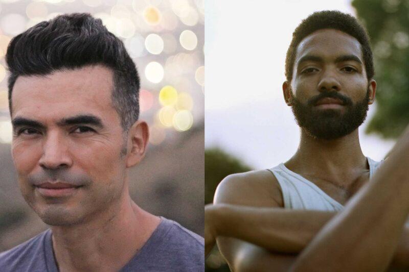 Headshots of Franco Martinez, left, and Silas Farley, right
