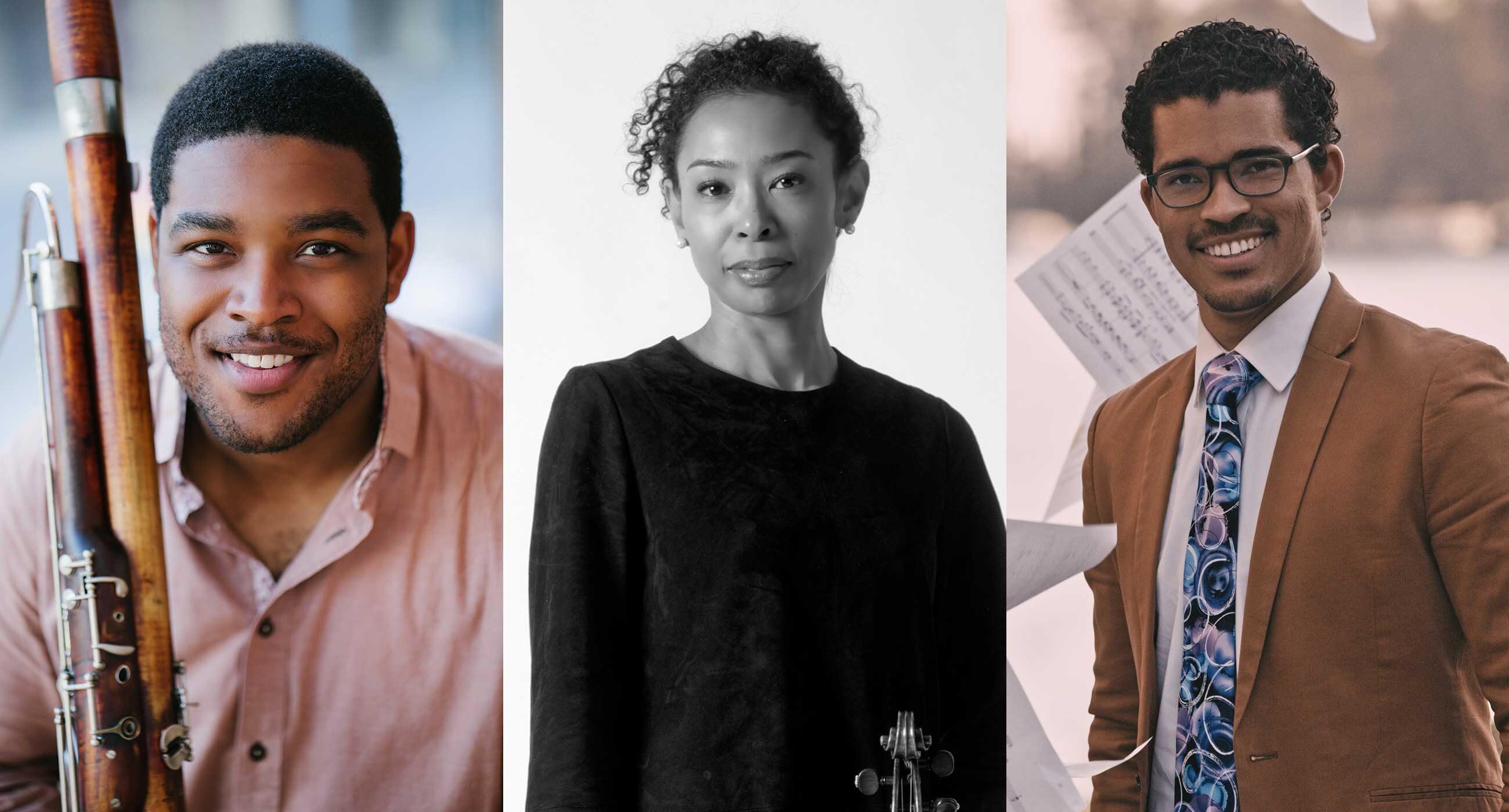 Andrew Brady, Nokuthula Ngwenyama, Marlon Martinez
