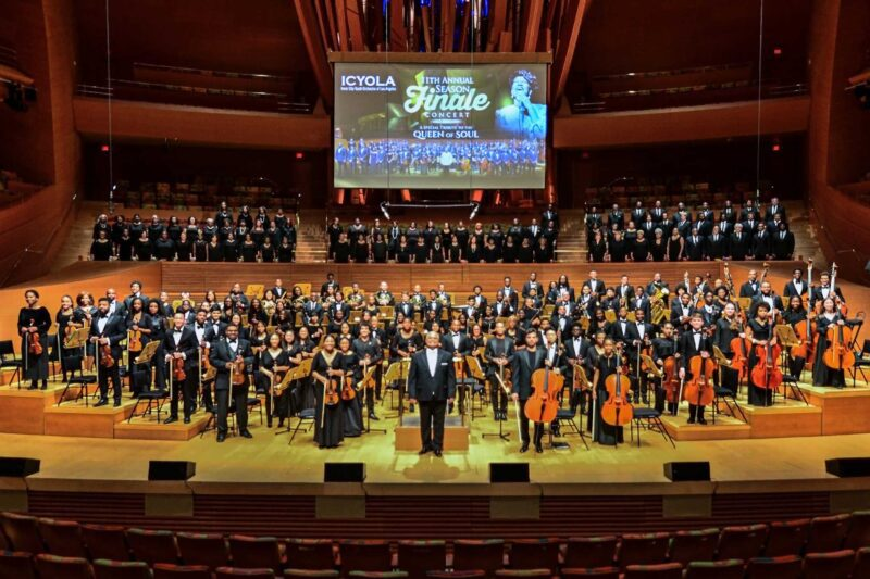 ICYOLA on Walt Disney Concert Hall stage