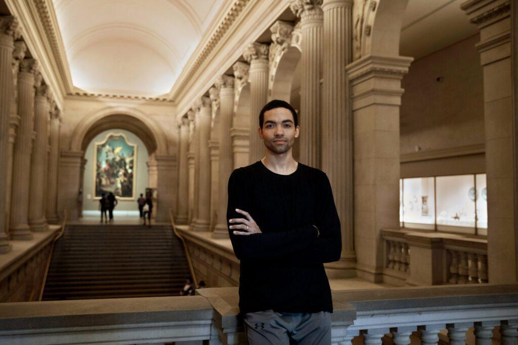 Silas Farley at Met Museum