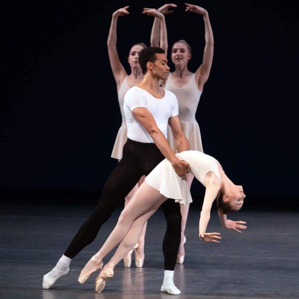 Silas Farley dancing Balanchine's Concerto Barocco at NYCB