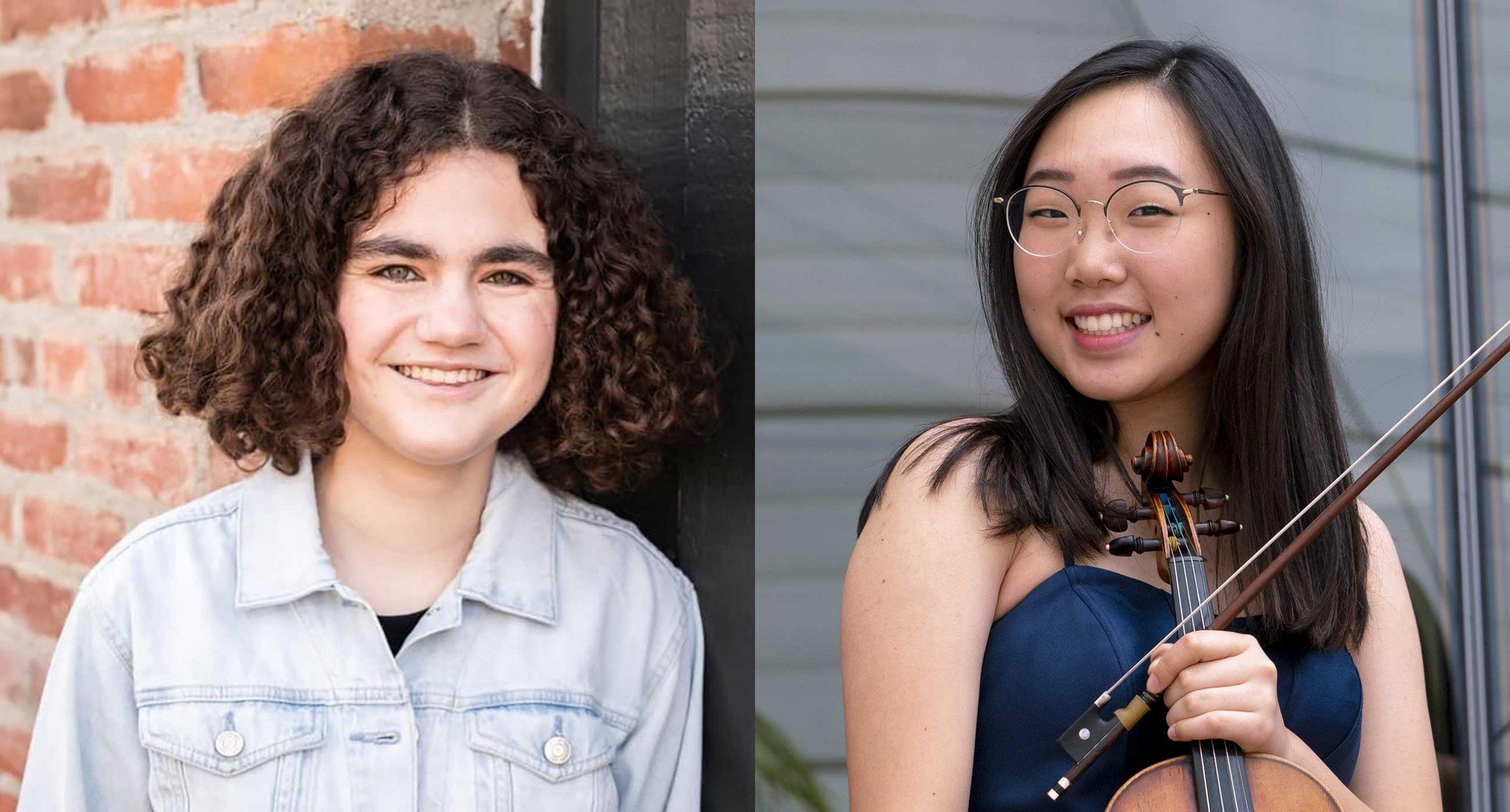Photos of Tess Alexander and Eunice Lee