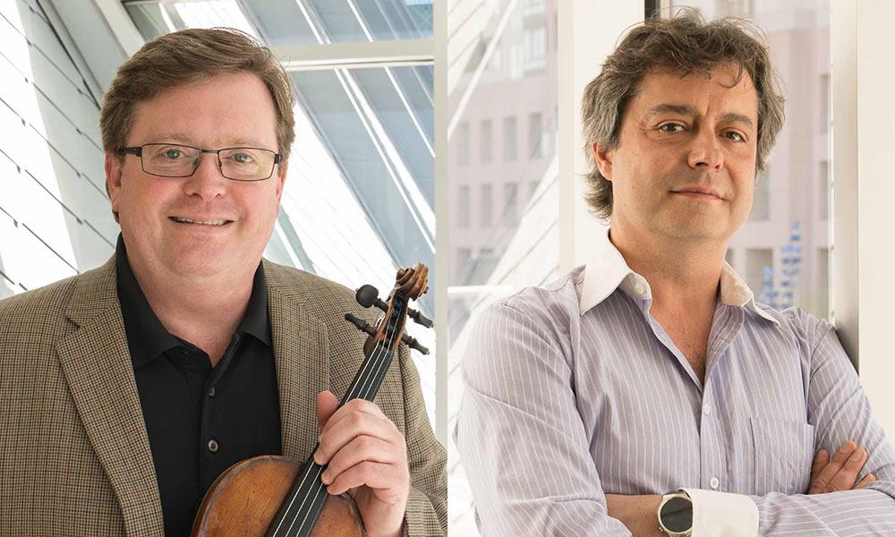 Brahmsfest: Martin Beaver, Violin and Fabio Bidini, Piano