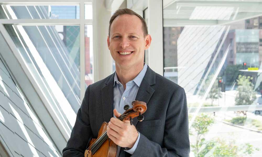 Brahmsfest: Sam Fischer, Violin